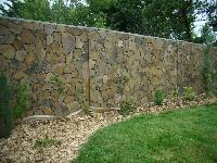 Andezit jako obklad zdi